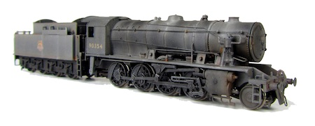 WD Austerity with special effects including streaks and rust patches.