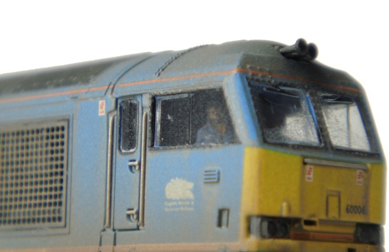 Class 60 with driver