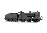 A picture of 43920 heavily weathered. Added details include: moulded coal replaced with real coal, etched depot plaques/work plates and detailed buffer beam at one end.