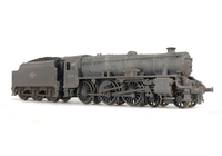 A picture of 45154 Added details include: renumbered, etched plates, moulded coal replaced with real coal, loco crew, etched depot plaques/work plates and detailed buffer beam.