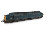 A picture of 40135 Details include: renumbered, driver, semi detailed buffer beam at both ends, moulded roof grill replaced with 3D etched fan and grill and residue left where work plates have been taken off.