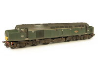 A picture of D386  Details include: renumbered, finer handrails on nose, driver, detailed buffer beam, semi detailed buffer beam at coupling end, moulded roof grill replaced with 3D etched version, finer bogie side cables, etched work plates and frost grill.