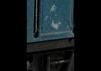 A picture of Close up of paint flaking on door which is often seen on a class 26.