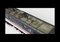 A picture of Class 86 roof close up