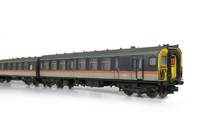 A picture of Class 411 with full respray into 'Jaffa Cake' livery although remaining in an unrefurbished condition